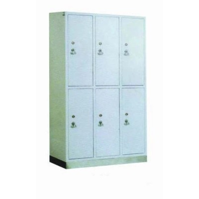 Hospital Medical Cabinet for Dressing, Hospital Locker Closet Wardrobe Furniture (U-3)