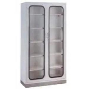 Hospital 2-Door Appliance Cupboard with Stainless Steel Base (U-1)