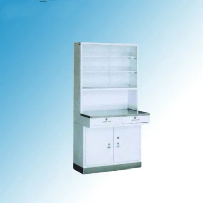 Hospital Injection Cabinet with Stainless Steel Base (U-6)