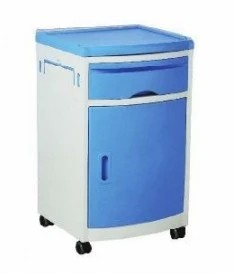 High Quality Moveable Medical ABS Bedside Locker