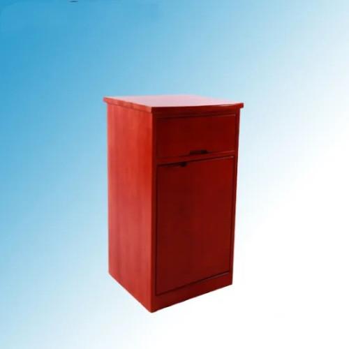 Solid Wood Hospital Medical Bedside Locker (K-10)