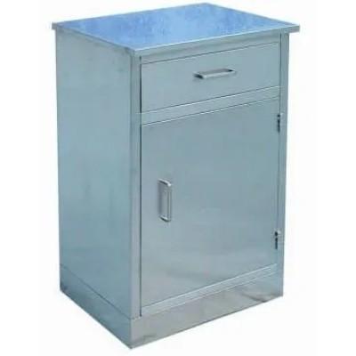 Stainless Steel Bedside Locker (K-9)
