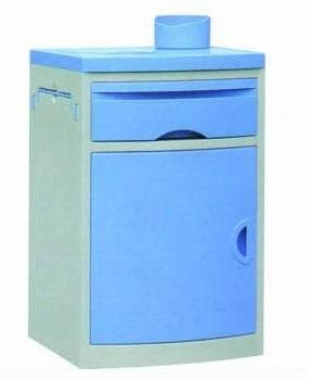 ABS Material Hospital Bedside Cabinet with Hot Bottle Holder (K-1)