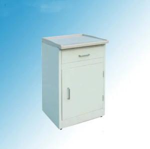 High Quality Hospital Medical ABS Top Steel Bedside Cabinet (K-4)