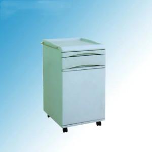 Hospital Medical ABS Bedside Table, Bedside Locker Cabinet (K-6)