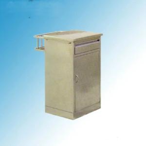 Stainless Steel Hospital Medical Bedside Locker Cabinet with Drawers (K-8)
