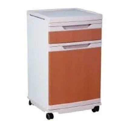 Movable ABS Hospital Bedside Cabinet