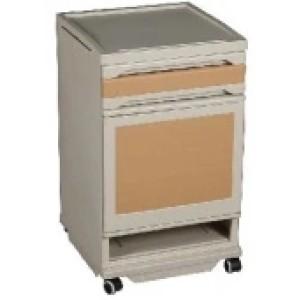 ABS Bedside Locker with Foot Wheel