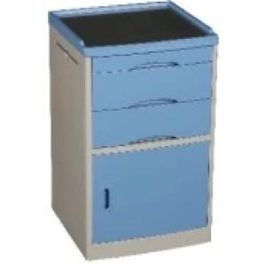 Blue Colour ABS Bedside Cabinet