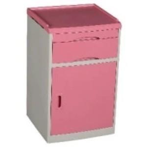 ABS Pink Colour Bedside Locker