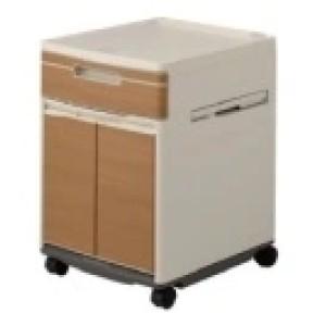 Wood Grain Luxury Bedside Cabinet