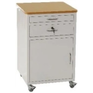 Epoxy Coated Bedside Cabinet / Locker