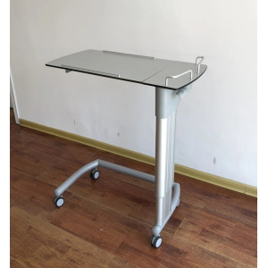 Hospital Dining Board Over Bed Table Height Adjustable Tilting Function
