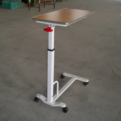 Medical Wooden Top Over Bed Table