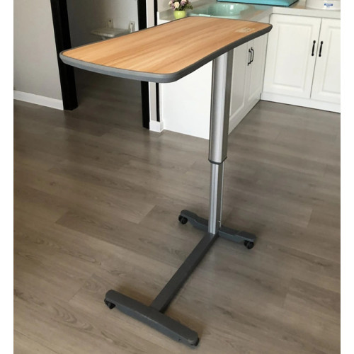 High Quality MDF Wooden Table Top Height Adjustable Over Bed Table