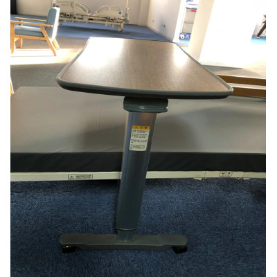 Wooden Color Over Bed Table Hospital Dining Table Bed Side Table