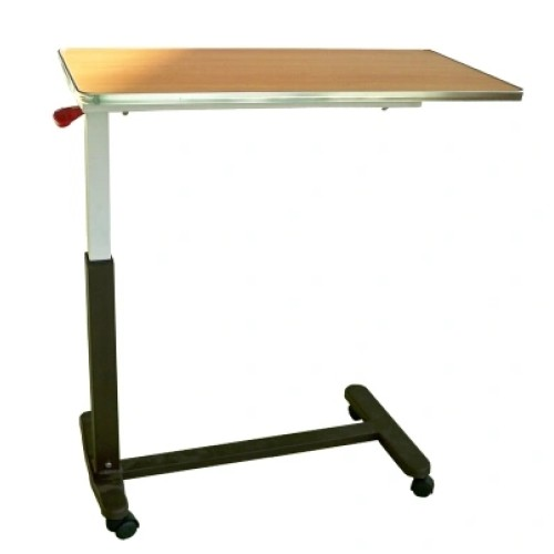 Moveable Hospital Medical Cantilever Dinner Table Overbed Table