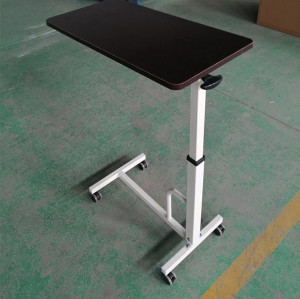 Hospital Furniture, Stainless Steel Hospital Over Bed Table (L-3)
