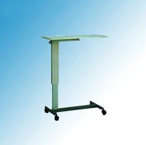 Hospital Furniture, Steel Painted Hospital Overbed Table (L-5)