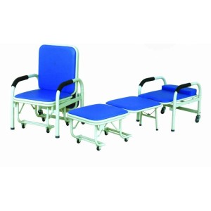 Stainless Steel Hospital Accompanying Chair, Nursing Chair (W-1)