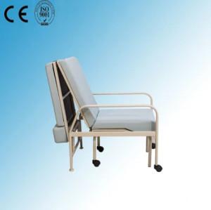 Folded Hospital Medical Nursing Chair of Steel Painted Frame (W-6)