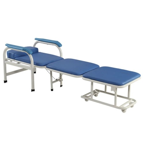 Steel Painted Foldable Hospital Accompanying Chair Folding Chair