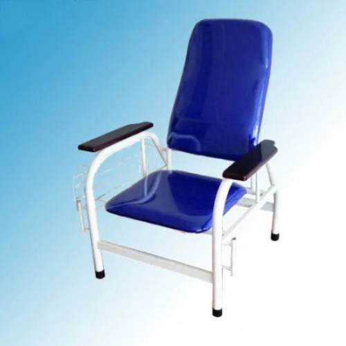 Hospital Furniture, Steel Painted Frame Hospital Transfusion Chair (W-4)