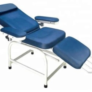 Expoxy Painted Blood Donation Chair with Armrest