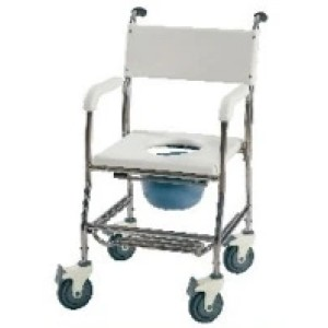 High Quality Stainless Steel Commode Chair