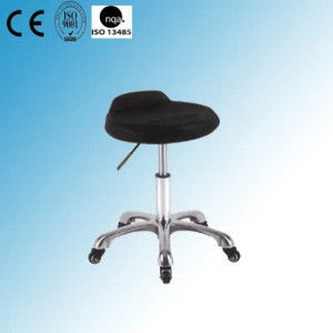 Revolving Stainless Steel Lab Stool (Y-16)