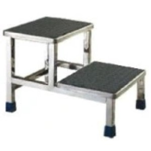 Stainless Steel Double Pedal Stool