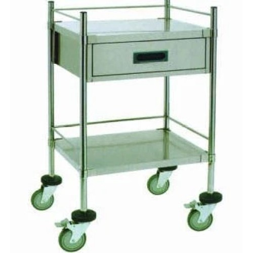 Stainless Steel Hospital Trolley (Q-1)