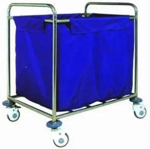 Stainless Steel Hospital Linen Trolley (HL-D432A-10)