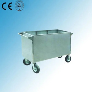 Stainless Steel Hospital Laundry Trolley (Q-33)