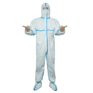 Factory Supply disposable protective suit hospital isolation gown