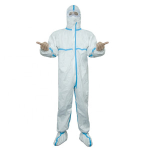 Factory Supply Chemical Personal Protective Suit Clothing Medical Coverall