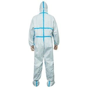 High Quality Non Woven Polypropylene Coverall Medical Protection Body Suit For Personal Care