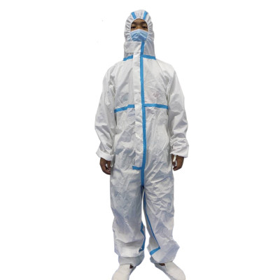 TYPE 5 6 standard Industrial Workplace disposable dust suits Microporous Coverall