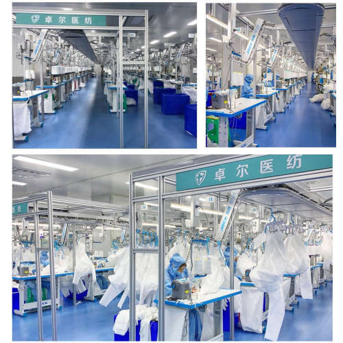 Factory Hot Sales White Disposable Protective Coverall Isolation For Personal Care