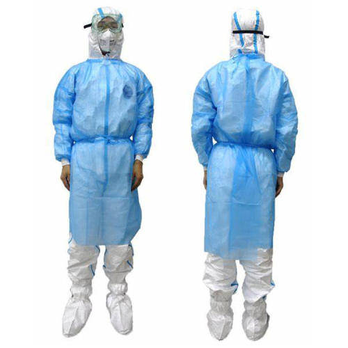 Hot sales sterile surgical gown coverall suit personal safety equipment