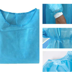 Hot sales disposable isolation clothes level 3 surgical gown