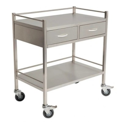 Stainless Steel Instrument Trolley Dressing Trolley