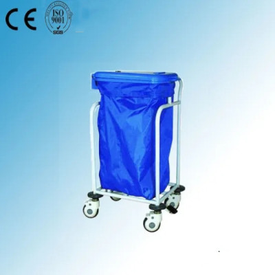 Linen Trolley, One Bag, Sewage Collection Medical Trolley (N-15)