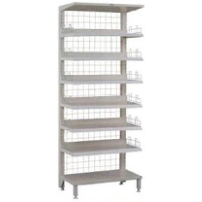 Stainless Steel Hospital Medical Mesh Shelves Trolley (R-3)