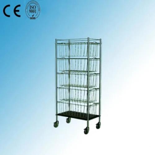 Stainless Steel Basket Trolley (R-2)