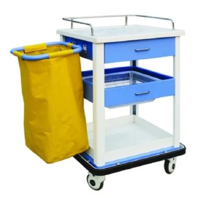 Mobile Medical Trash Trolley (N-11)
