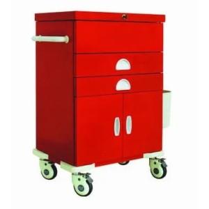 Hospital Crash Cart Medical Trolley (N-6)