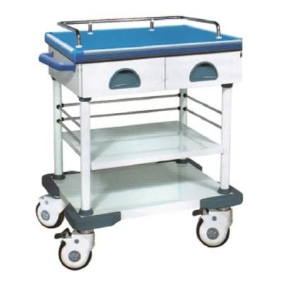 Medical Equipment: Epoxy Powder Coated Hospital Equipment Treatment Cart (N-4)