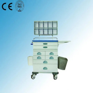 Multi-Function Hospital Medical Emergency Trolley (N-5)
