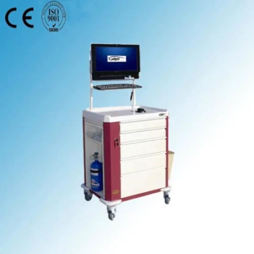 Multi-Function Hospital Medical Emergency Cart (P-13)